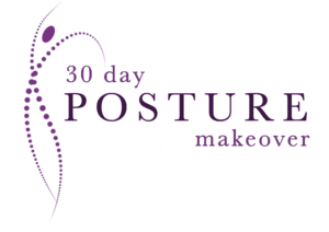 purple logo posture makeover